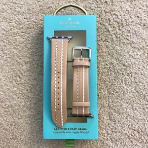 Kate Spade Vachetta Leather Strap 38mm